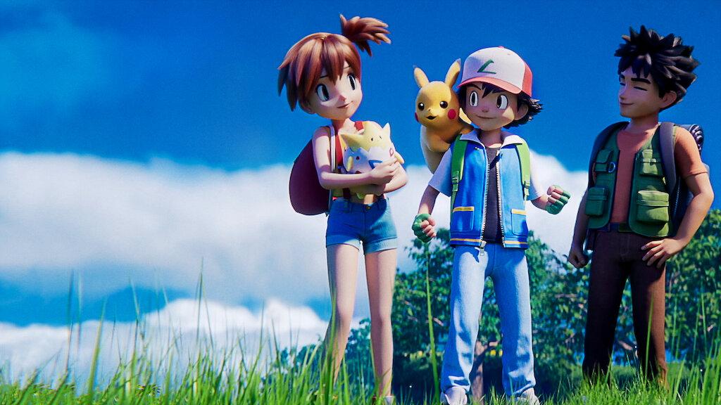 Pokemon Mewtwo Strikes Back Evolution Netflix Official Site