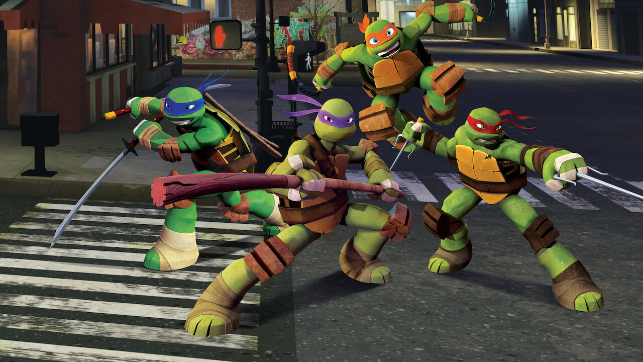 Teenage Mutant Ninja Turtles Netflix