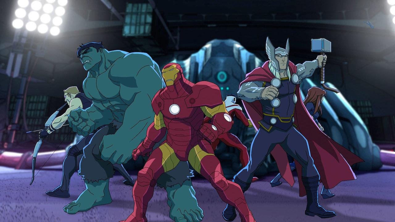Marvel S Avengers Assemble Netflix