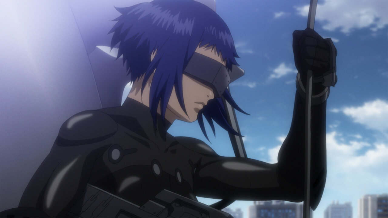 Ghost In The Shell The New Movie Netflix