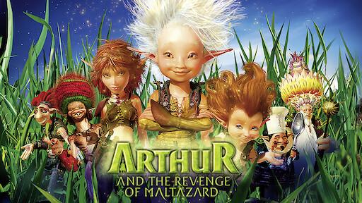 Arthur 3 The War Of The Two Worlds Netflix